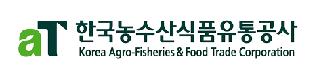 한국농수산식품유통공사 로고