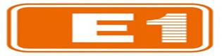 E1 로고